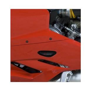 R&G Racing Carbon Fiber Stator Cover Ducati 899 / 1199 Panigale