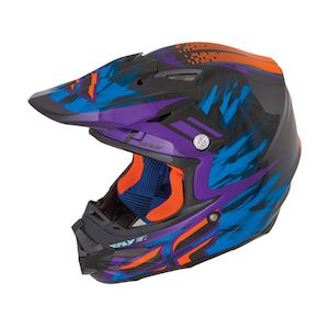 Fly Racing Dirt F2 Carbon Andrew Short Replica Helmet