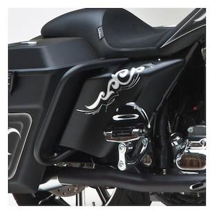 Arlen Ness Side Cover Set For Harley Touring 1997-2008