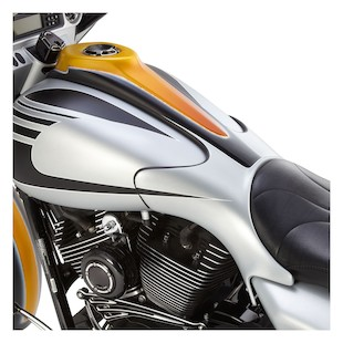 Arlen Ness Winged Gas Tank Extension For Harley Touring 2009-2018