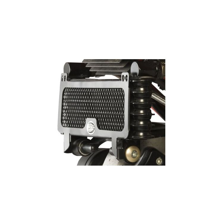R&G Racing Oil Cooler Guard Ducati Hypermotard 796 / 1100