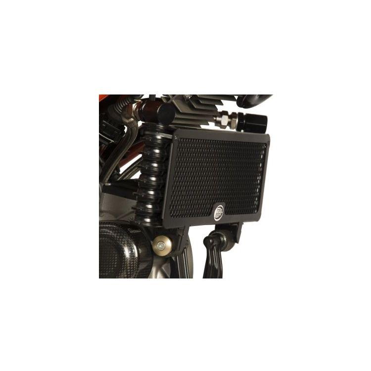 R&G Racing Oil Cooler Guard Ducati Hypermotard 1100 EVO / SP