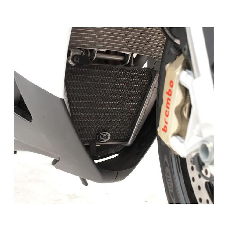 R&G Racing Oil Cooler Guard Aprilia RSV4 / Tuono V4 R