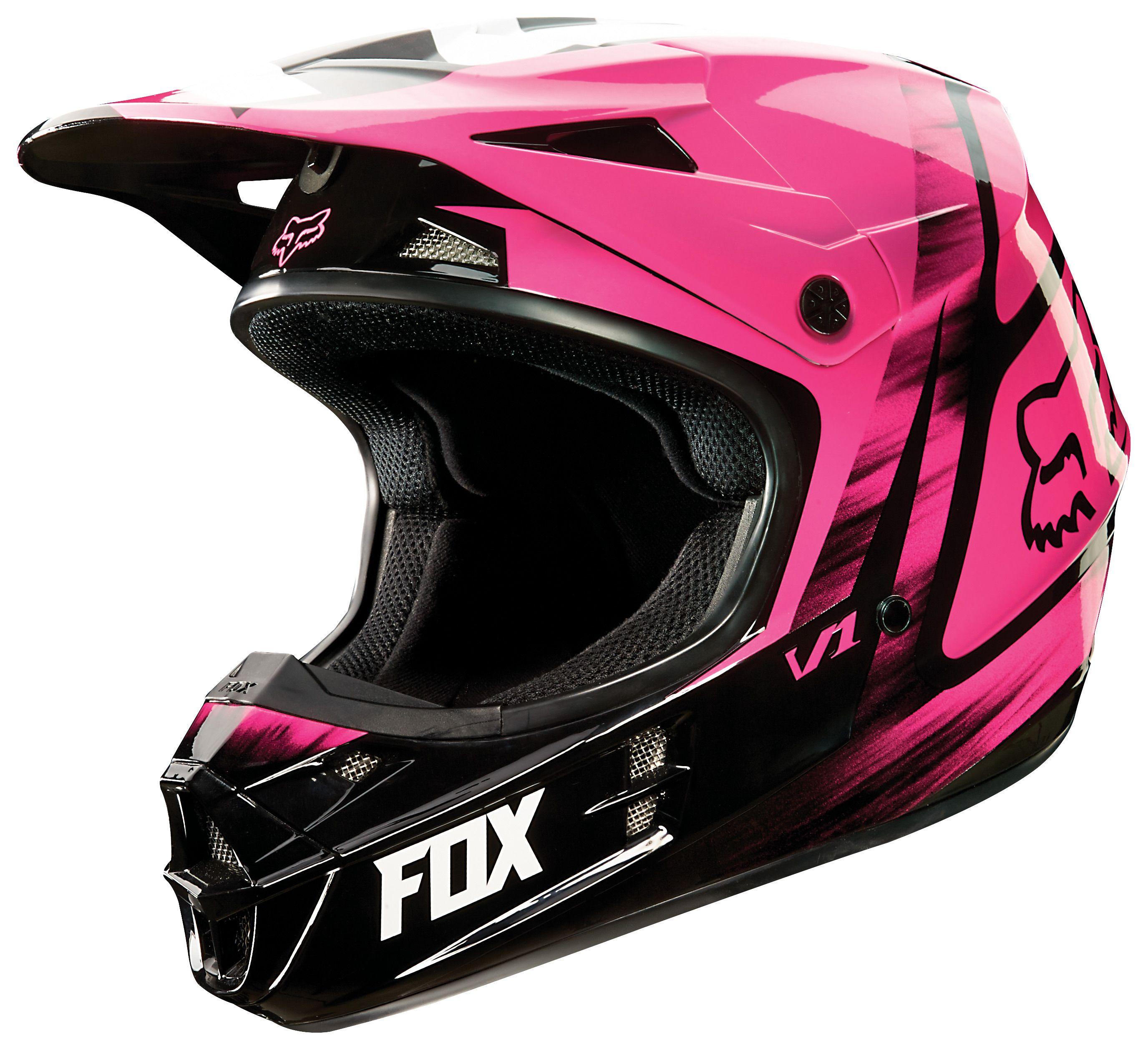 fox racing v1 vandal women 39 s helmet revzilla. Black Bedroom Furniture Sets. Home Design Ideas