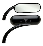 Arlen Ness Mini Oval Ness-Tech Micro Mirror For Harley / Victory / Indian