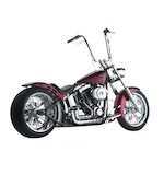 Santee Skirt Blower Pipes By Paul Yaffe For Harley Softail 1986-2011