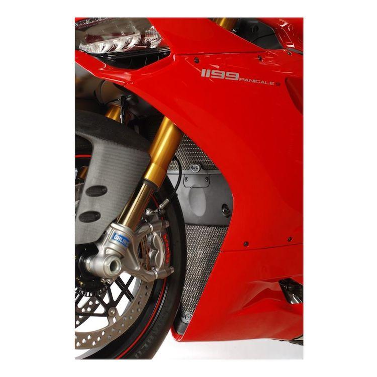 R&G Racing Radiator / Oil Cooler Guard Set Ducati 899 / 959 / 1199 / 1299 Panigale
