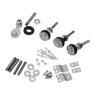 Saddlemen S4 Quick Disconnect Docking Post & Fastener Kit For Harley Sportster 1994-2017