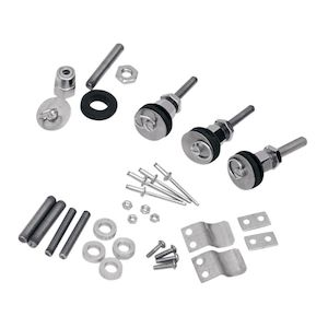 Saddlemen S4 Quick Disconnect Docking Post & Fastener Kit For Harley Softail 1984-2017
