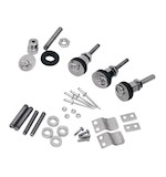 Saddlemen S4 Quick Disconnect Docking Post & Fastener Kit For Harley Softail 1984-2014