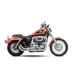 Santee Skirt Blower Pipes By Paul Yaffe For Harley Sportster 2004-2013