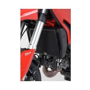 R&G Racing Radiator Guard Ducati Hypermotard / Hyperstrada 2013-2015