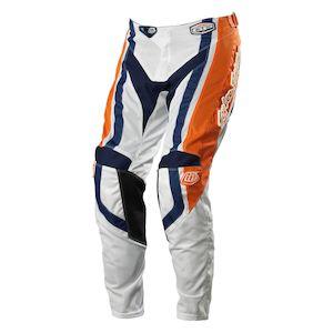 Troy Lee GP Air Factory Pants Orange/Blue / 38 [Blemished]