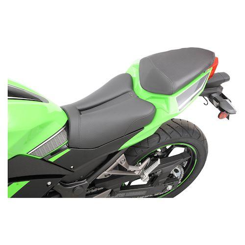 Saddlemen Gel Channel Track Cf Seat Kawasaki Ninja 300