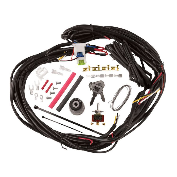 Cycle Visions Custom Wire Harness