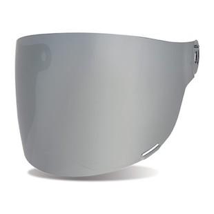 Bell Bullitt Flat Face Shield Silver Iridium / Brown Tab [Previously Installed]