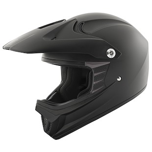 Speed and Strength SS2300 Jet Black Youth Helmet