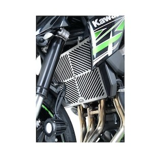 R&G Racing Stainless Steel Radiator Guard Kawasaki Ninja 1000 / Z1000 / Z750 / Versys 1000