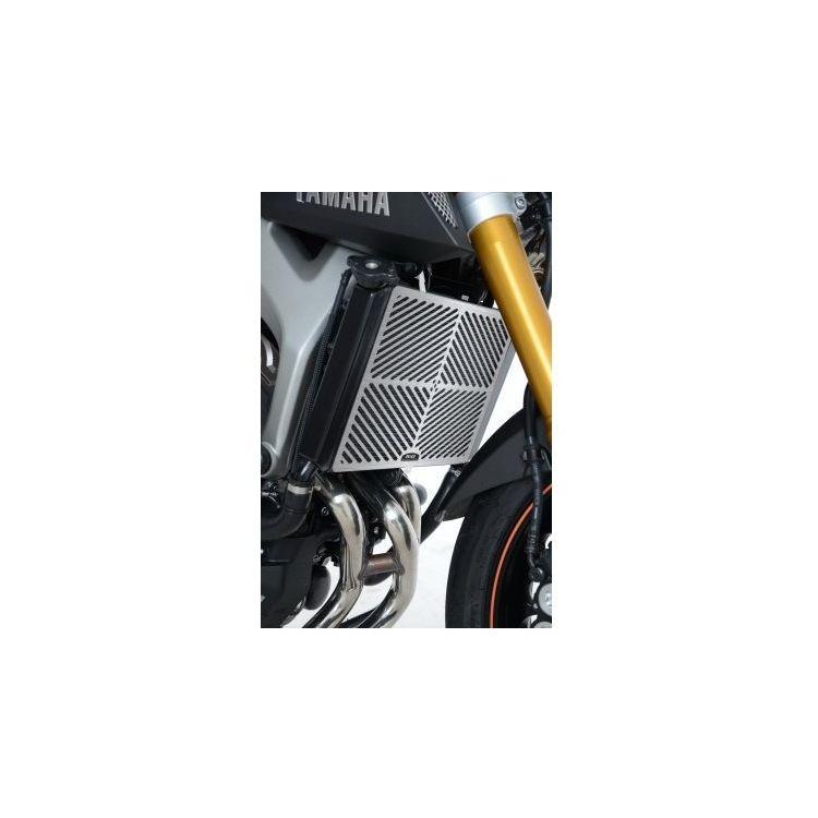 R&G Racing Stainless Steel Radiator Guard Yamaha FZ-09 / MT-09 / FJ-09 / XSR900