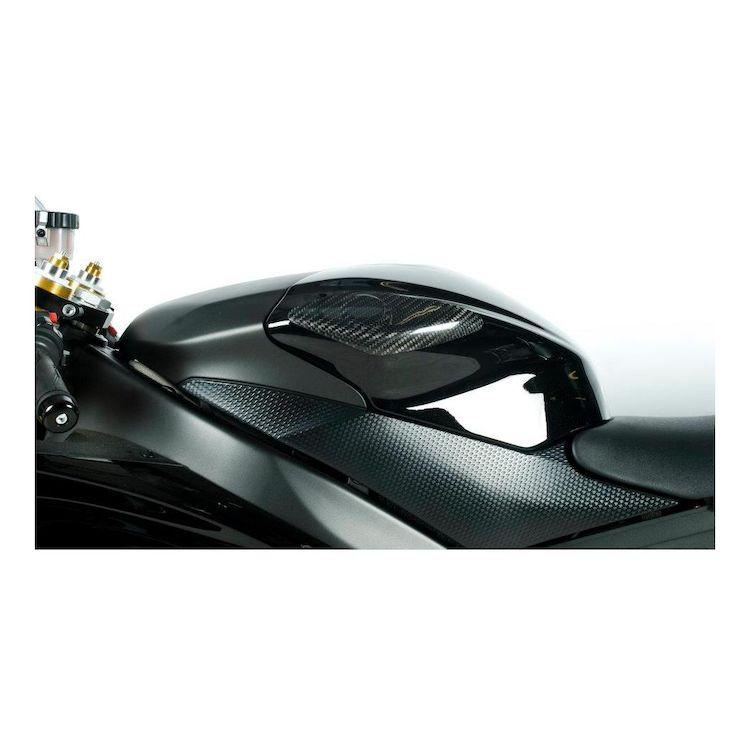 YAMAHA YZF-R6 2008-2016 Carbon Fiber Tank Sliders Protectors Guards