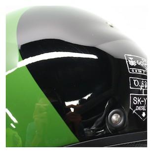 AGV Diesel Hi-Jack Helmet Black/Green / XS [Blemished]
