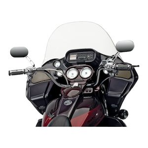 """Cycle Visions Plus 2"""" Rise Extended Handlebars For Harley Road Glide 1998-2013"""