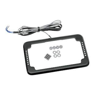 Cycle Visions LED Slick Signals License Plate Frame