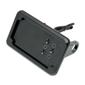 Cycle Visions LED Side-Mount License Plate Holder For Harley