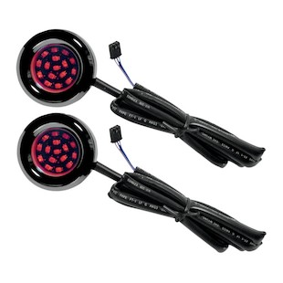 Cycle Visions LED Bag Lights For Harley Touring 2000-2013