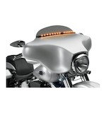 Cycle Visions LED Light Tech Windshield Trim For Harley Touring 1996-2013