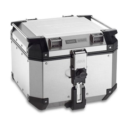 givi trekker outback 42 liter top case revzilla. Black Bedroom Furniture Sets. Home Design Ideas