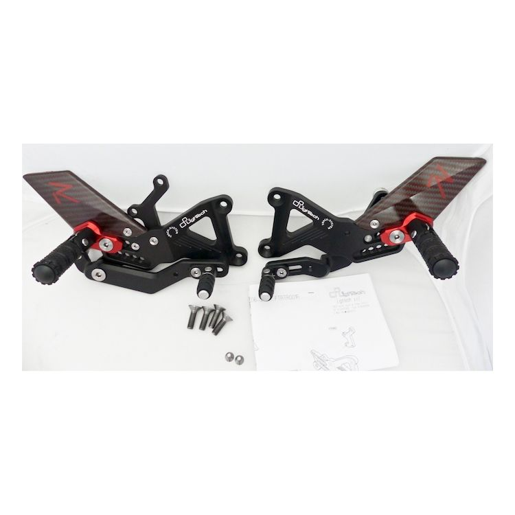 LighTech R Series Rearsets Triumph Daytona 675 / R / Street Triple / R