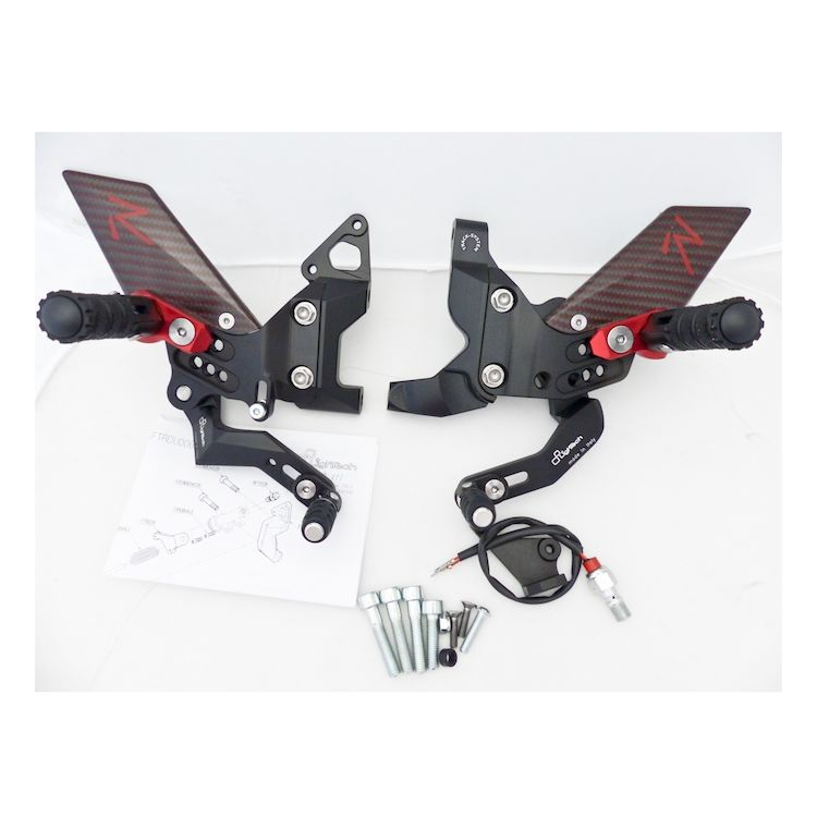 LighTech R Series Rearsets Ducati 899 / 1199 / 1299 Panigale