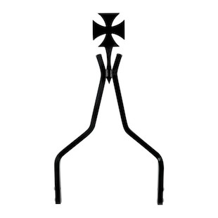 Cycle Visions Cross Sissy Bar For Harley
