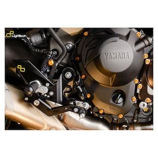 Lightech Track System Rearsets Yamaha FZ-09 2014