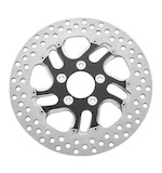 "Performance Machine 11.5"" Rear Brake Rotor For Harley 2000-2014 Rear Right / Contrast Cut Rival [Previously Installed]"