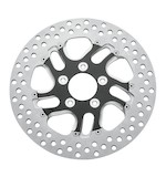 "Performance Machine 11.5"" Front Brake Rotor For Harley 2000-2014 Front Left / Contrast Cut Rival [Previously Installed]"