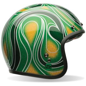 Bell Custom 500 Chemical Candy Mean Green Helmet (Size XS Only)