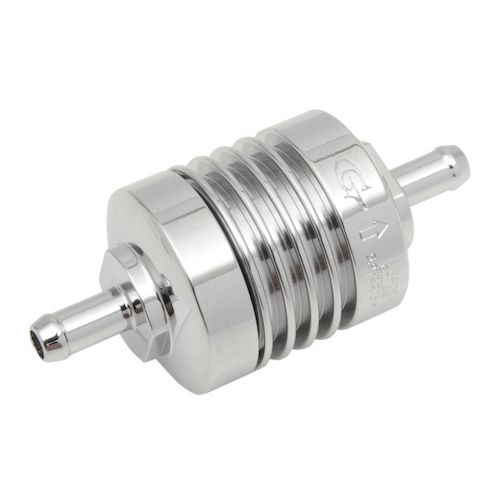 text flow fuel filter golan peak-flow in-line mini fuel filter - revzilla #9