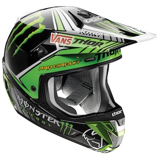 Thor Verge Pro Circuit Monster Energy Helmet