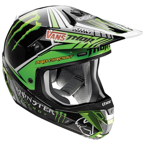 thor verge pro circuit monster energy helmet revzilla. Black Bedroom Furniture Sets. Home Design Ideas