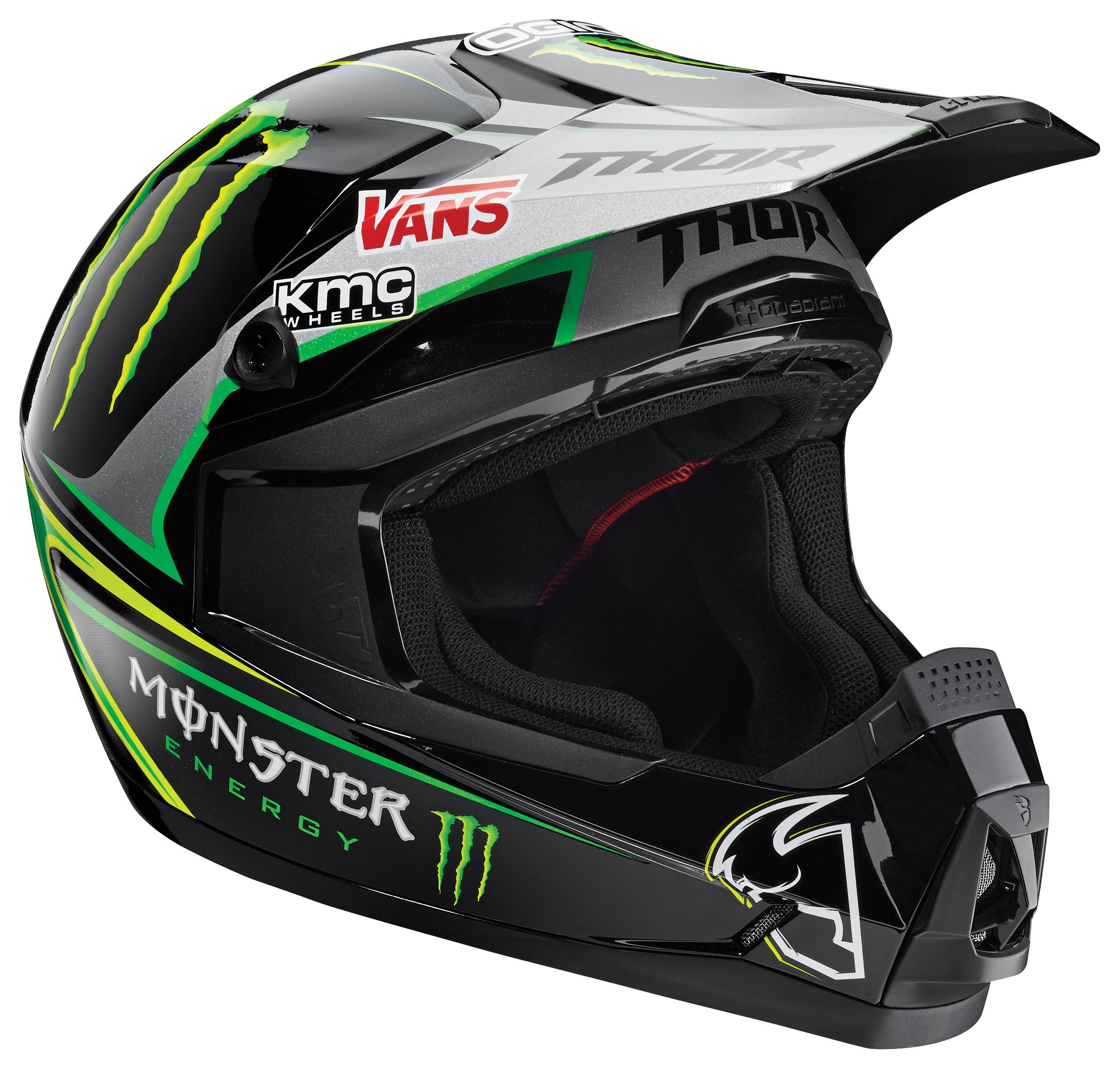 thor quadrant pro circuit monster energy helmet revzilla. Black Bedroom Furniture Sets. Home Design Ideas