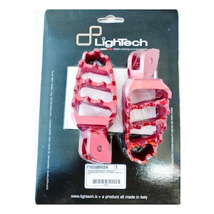 LighTech Passenger Foot Pegs Ducati Hyperstrada 821 / Hypermotard 821