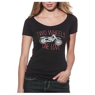 Thor Women's 2 Wheels Scoop Neck T-Shirt