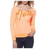 Thor Moto Lover Scoop Neck L/S Women's Shirt