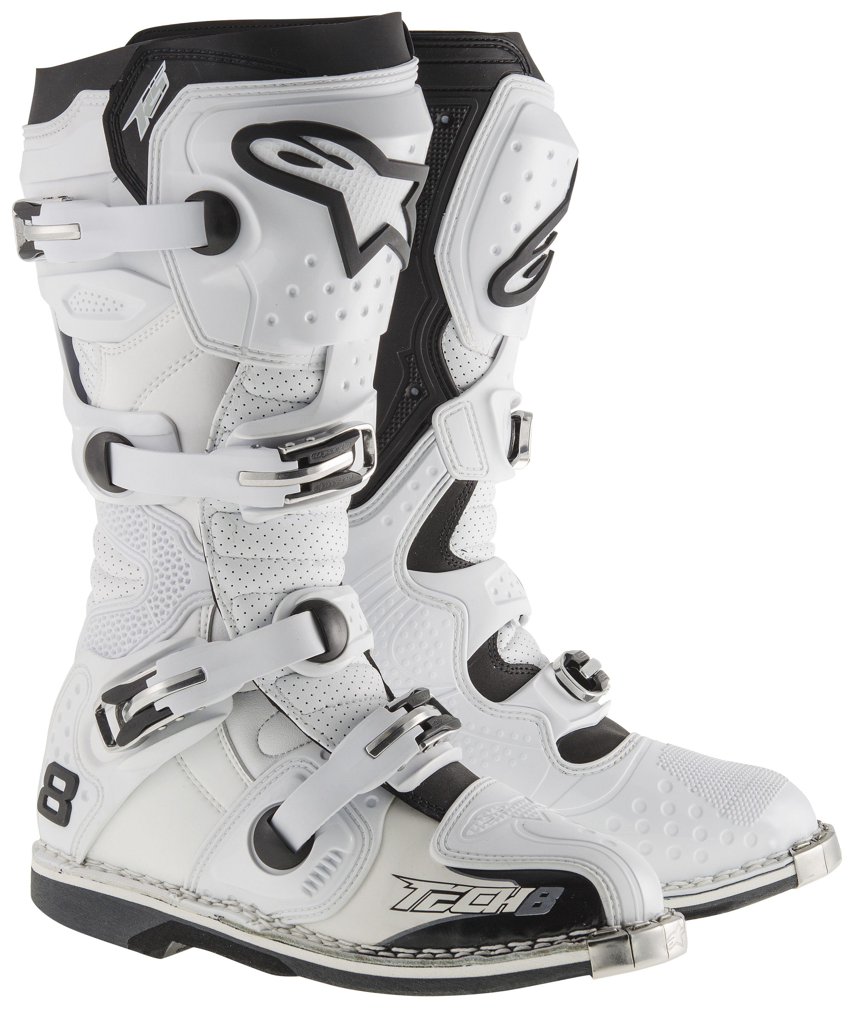 Alpinestars Tech 8 RS Vented Boots - RevZilla