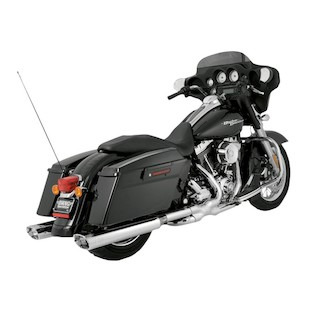 Vance & Hines Power Duals For Harley Touring 2009