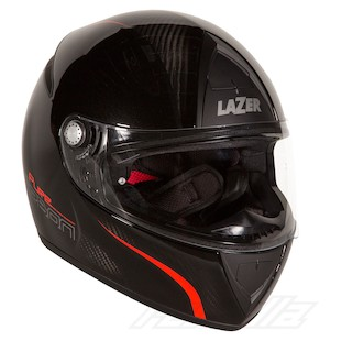 LaZer Falcon Pure Carbon Helmet Black/Black / LG [Demo]