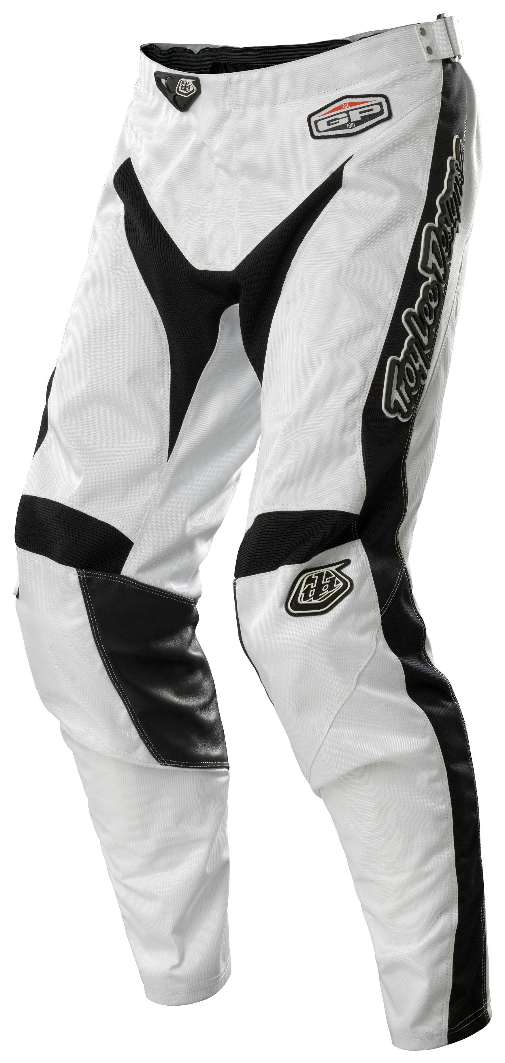 4adc63d7 Troy Lee GP White-Out Pants - RevZilla