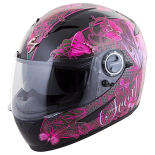 Scorpion EXO-500 Mariposa Women's Motorcycle Helmet